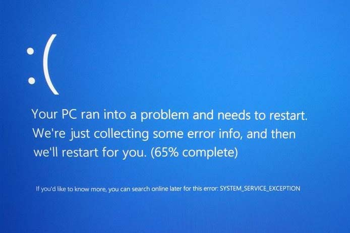 System Service Exception: How to Fix the BSOD Stop Code in Windows 10
