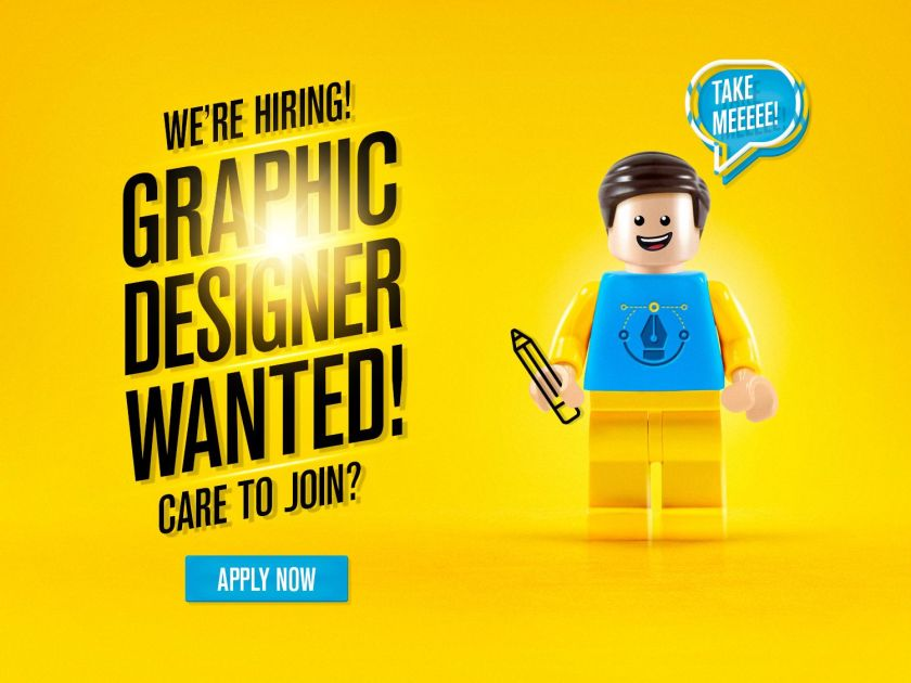Graphic Designer Needed at Reputable Company Now