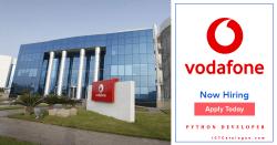 Python Developer Needed At Vodafone Ghana