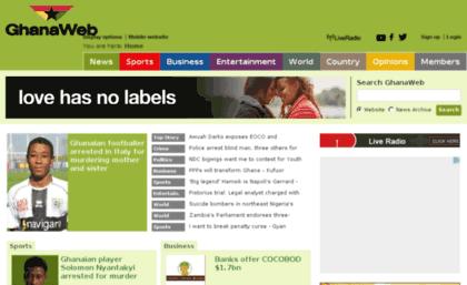 Taking A Look At GhanaWeb – Ghana HomePage