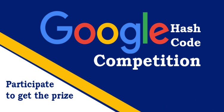 Apply For Google's Hash Code 2020