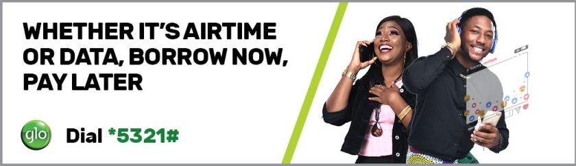 How To Borrow Airtime On Glo Ghana