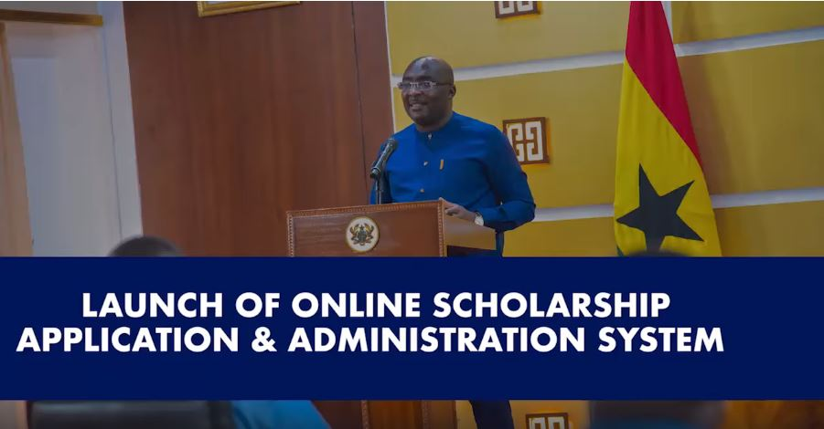 Bawumia Launches Online Scholarship Application System