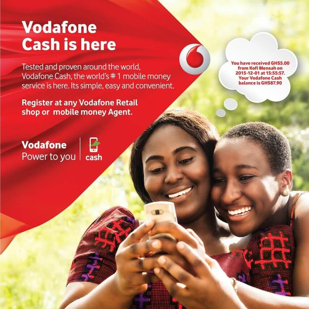 How To Register Vodafone Cash Account Online In Ghana