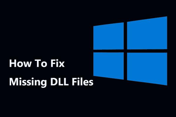 fix .dll file error