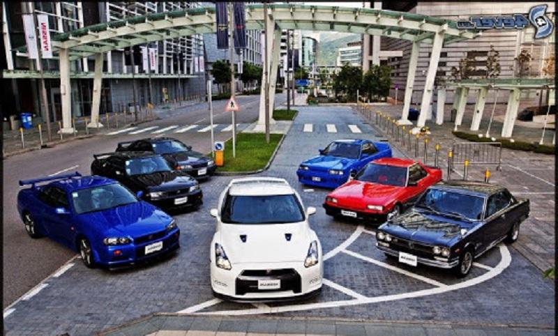 Nissan skyline GT-R serisi