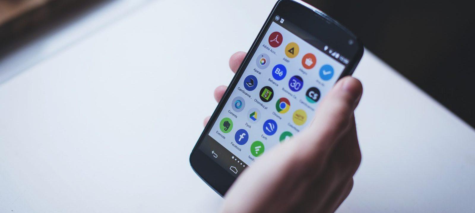 Opstart Android tablet ensmartphone