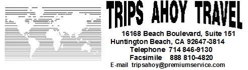 Trips Ahoy, California, USA