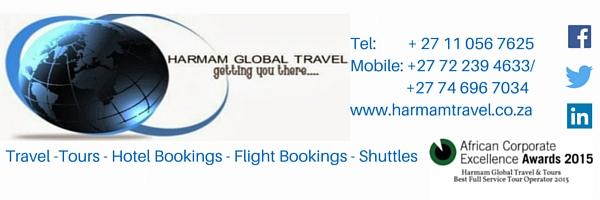 Harman Global Travel & Tours, Johannesburg, South Africa
