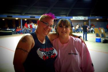 5-2013 Super fan Rhonda