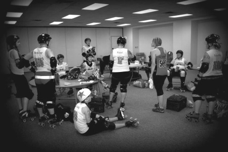 6-28-14 SECOND Midwest Derby Fest locker room