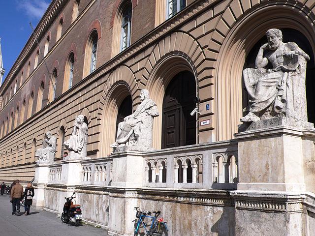 Bayerische Staatsbibliothek. Foto: Guido Radig / Wikimedia Commons