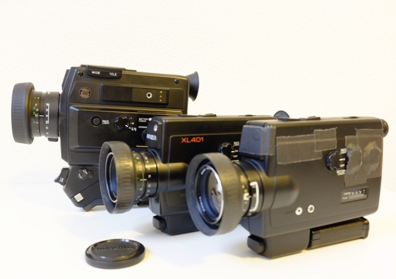 My stable of Super 8 cameras