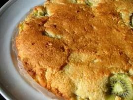 Gâteau kiwi-noix de coco