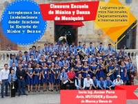 CLAUSURA ESCUELA DE MÚSCIA Y DANZAS