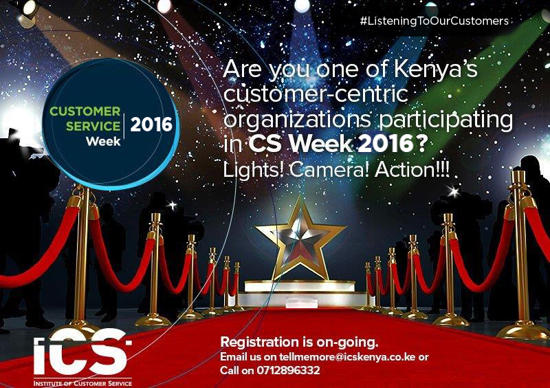 Are you Customer-Centric? During #CSWeek2016  Showcase your Customer Service Excellence