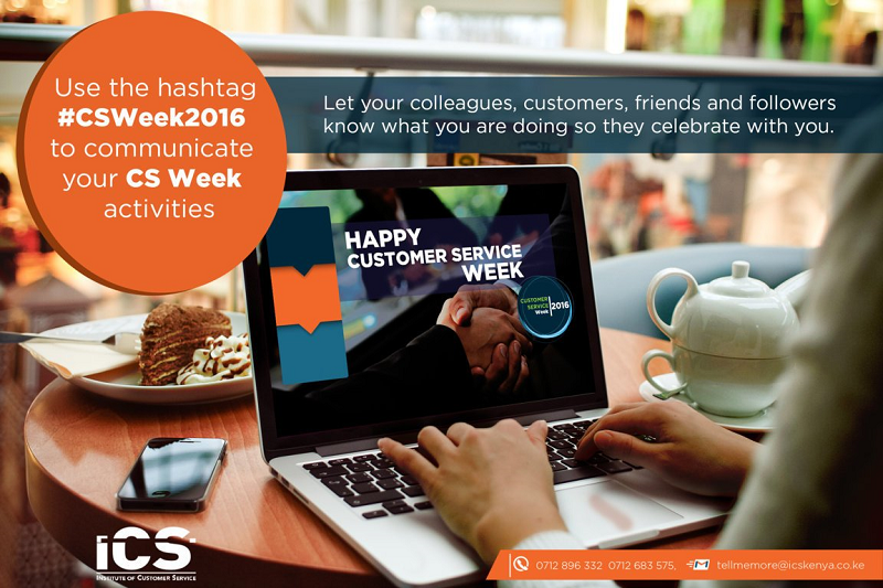 How are You Celebrating Your Customers this #CSWeek2016?