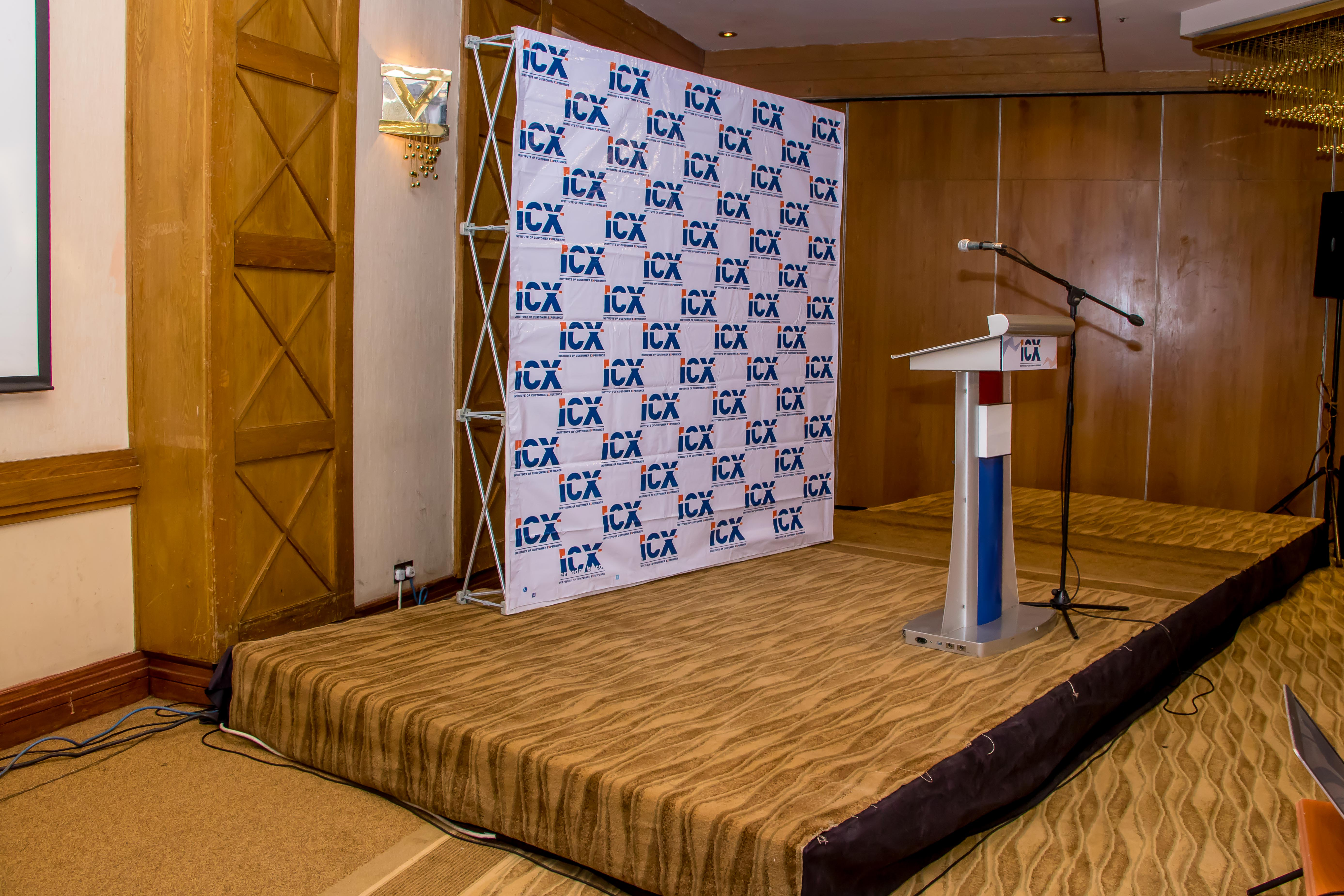 The stage was all set for the ICX Kenya relaunch breakfast forum