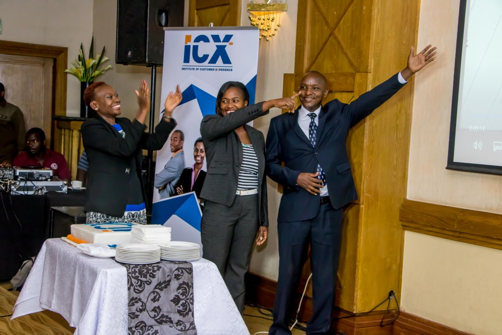 3..2..1.. count down as The Institute of Customer Service - ICS Kenya successfully relaunched to The Institute of Customer Experience - ICX Kenya.