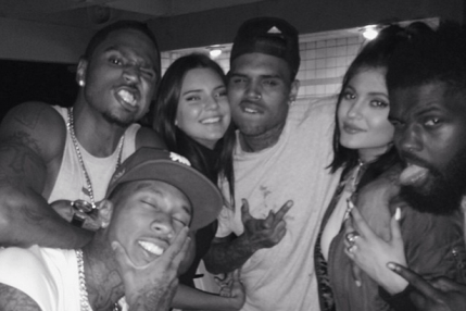 Kylie-Jenner-Instagram-with-Chris-Brown