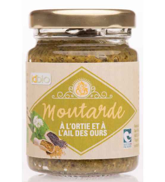Moutarde Ail des Ours-Ortie bio