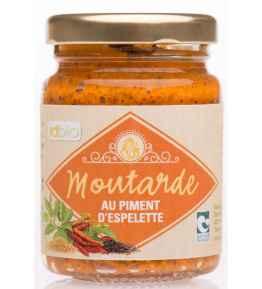 Moutarde piment espelette bio