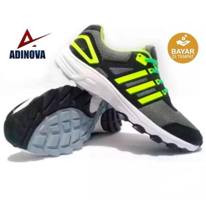 Adinova Shoes Sepatu Sport Pria/Sepatu Sneaker Pria / Sepatu Olahraga/Sepatu Lari/Running Pria Pria A-1010  NEW