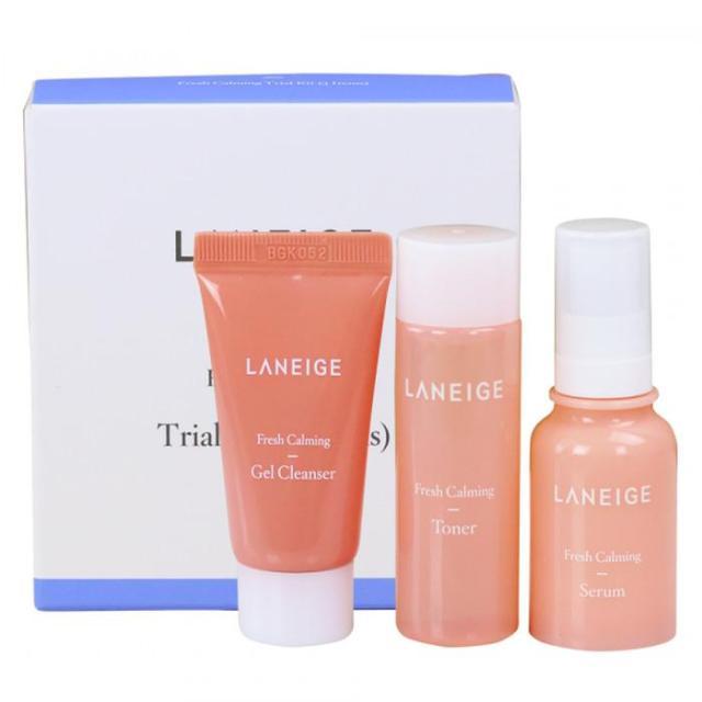 LANEIGE FRESH CALMING TRIAL KIT 3 ITEMS - trial kit 3item