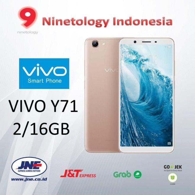 VIVO Y71 2/16GB Gold - Garansi Resmi