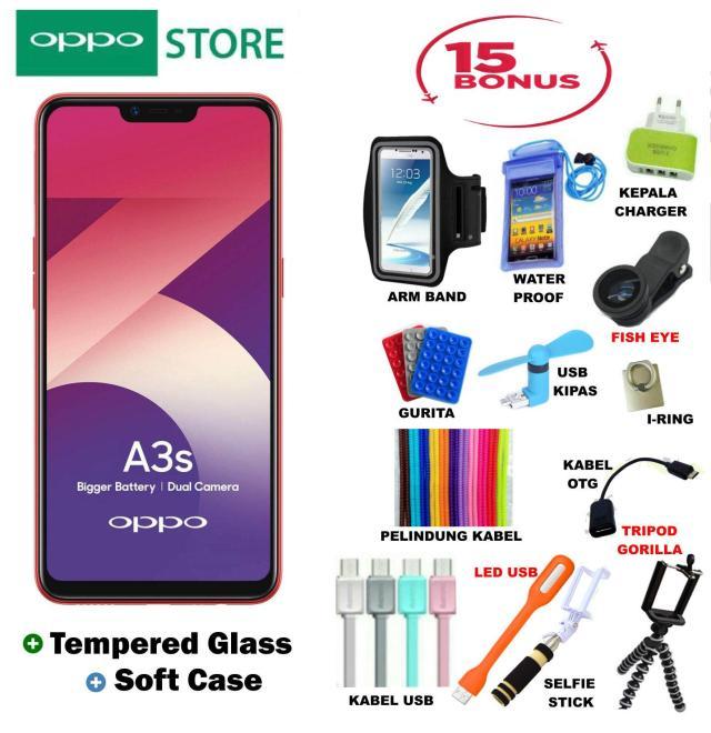 OPPO A3S 2/16GB - Plus Super Bonus Acc