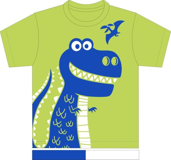 Kaos Anak Mommy's Honey - Trex Hijau