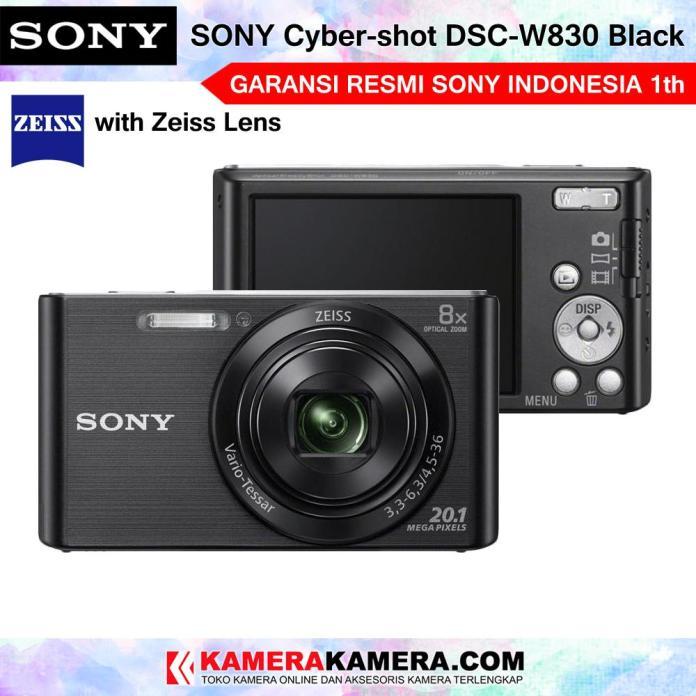 SONY Cyber-shot DSC-W830 Compact Camera Sony W830 Zeiss Lens 20MP 8x Optical Zoom HD Movie 720p - Garansi Resmi Sony Indonesia 1th