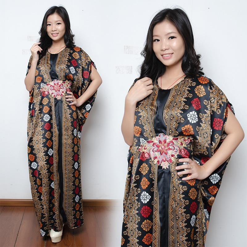 SB Collection Dress Maxi Blaire Longdress Kaftan Gamis Jumbo Batik Wanita