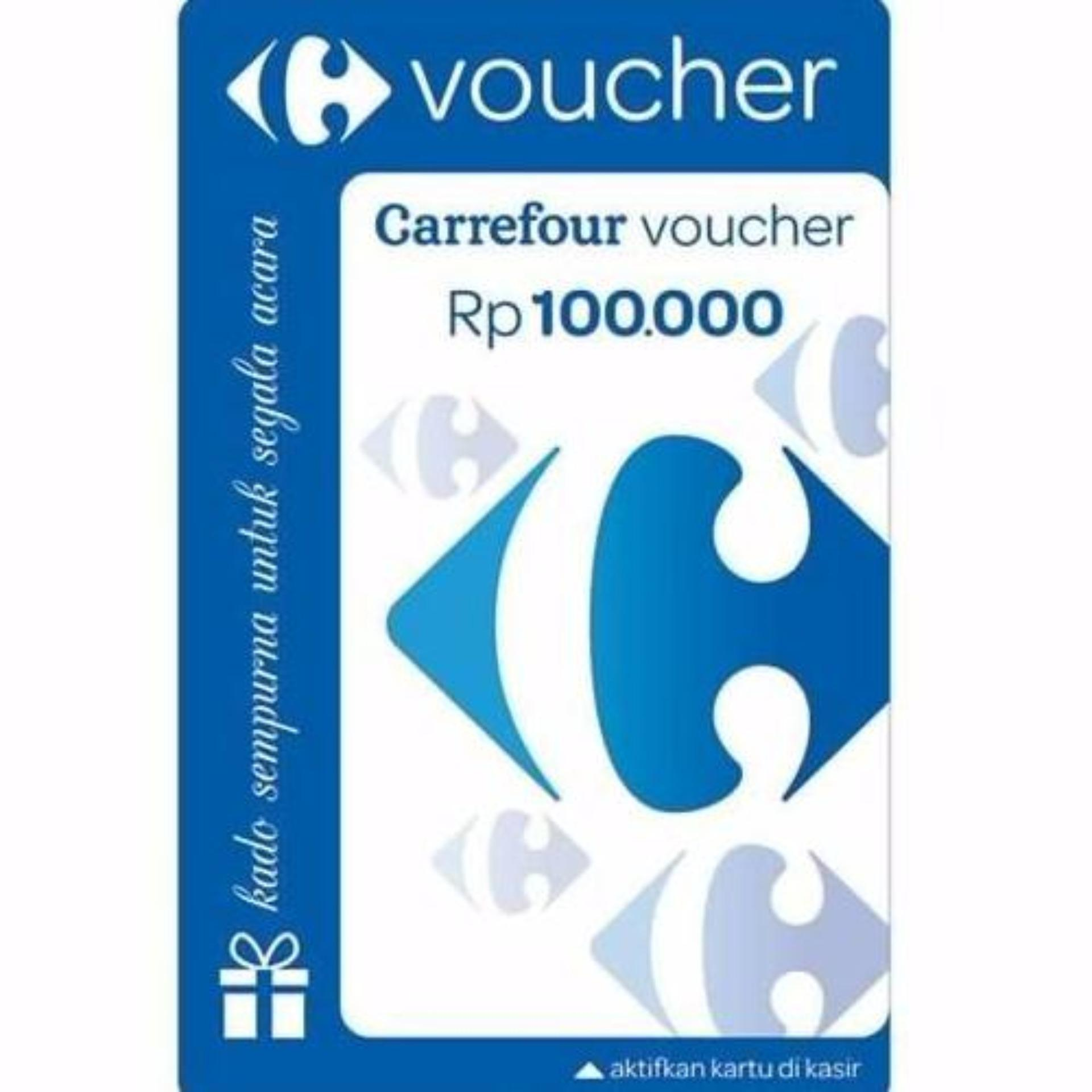 Voucher Carrefour nominal 1jt
