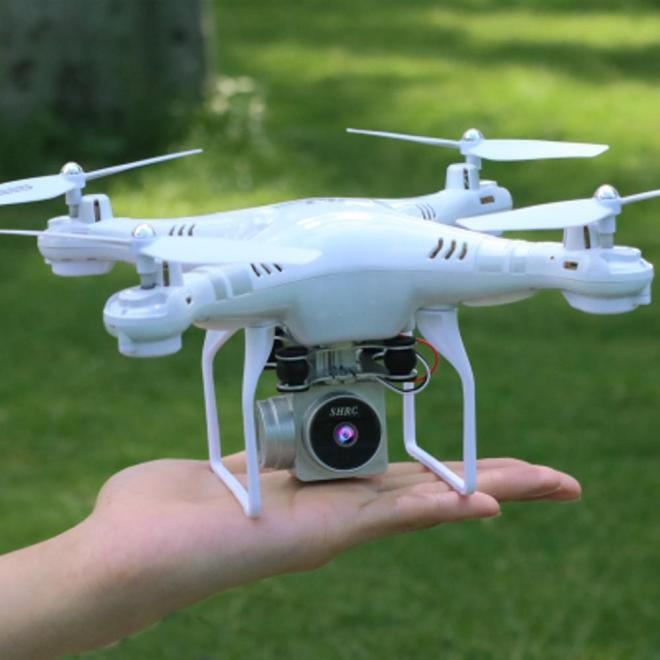 Drone Mini Phantom 3 Quadcopter SH5HD dengan Camera WIFI FPV 2MP Altitude Hold Warna Putih