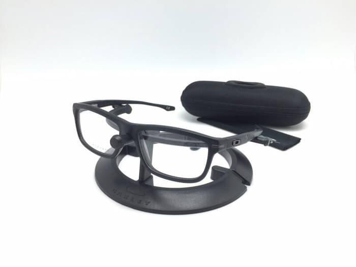 Best Seller!! Kacamata Baca Frame Pria Oakley Enduro Black - ready stock