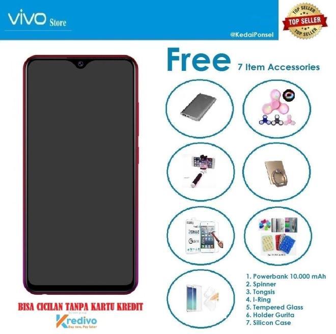 VIVO Y91 [2/16GB] + 7 Item Accessories - Bisa Cicilan tanpa Kartu Kredit