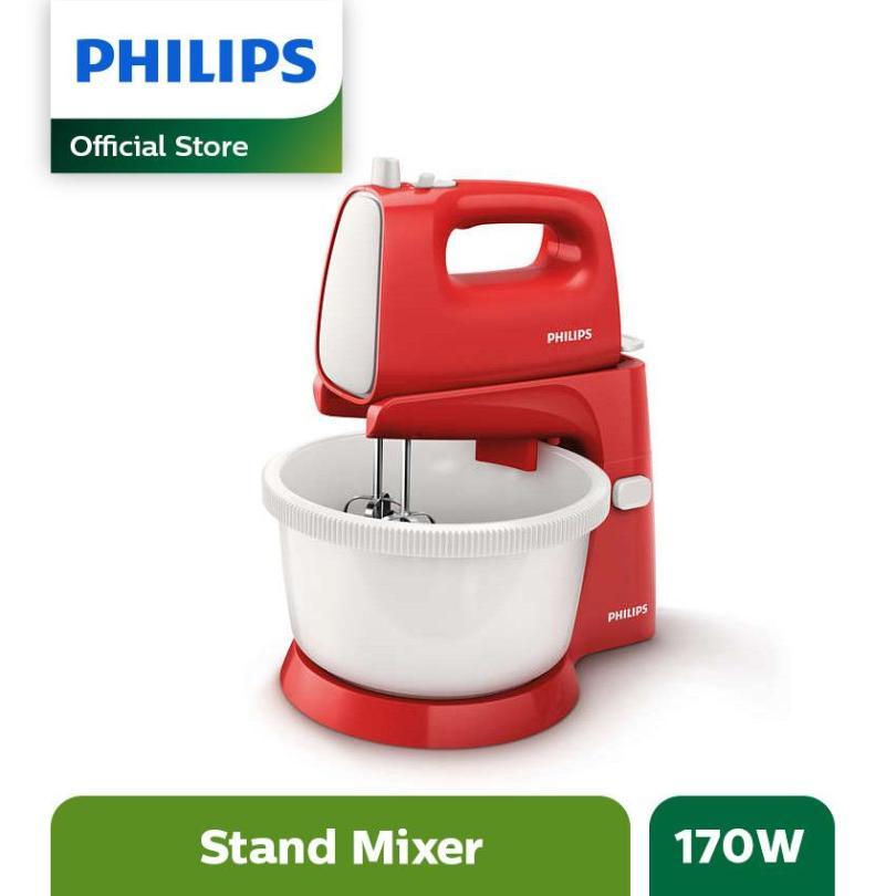 Philips Stand Mixer HR1559 - Merah