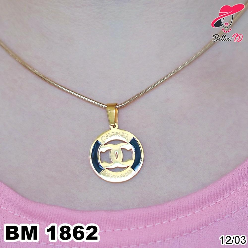 Kalung Chanel Gold M 1862