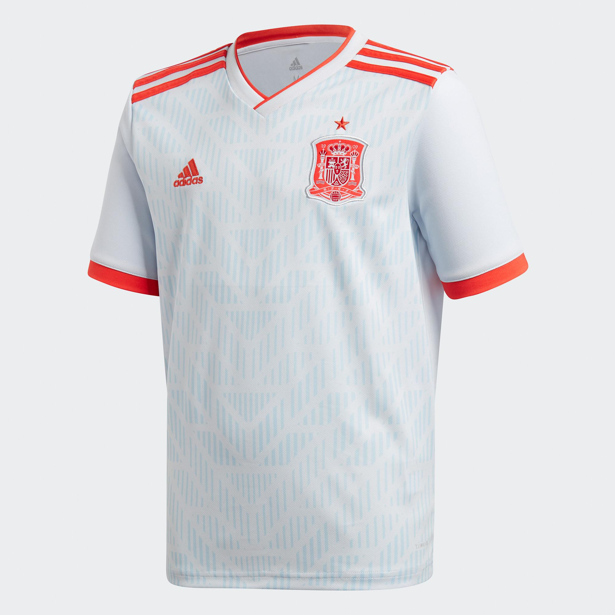 JERSEY BOLA SPANYOL AWAY OFFICIAL WORLD CUP PIALA DUNIA 2018 JERSEY SPAIN