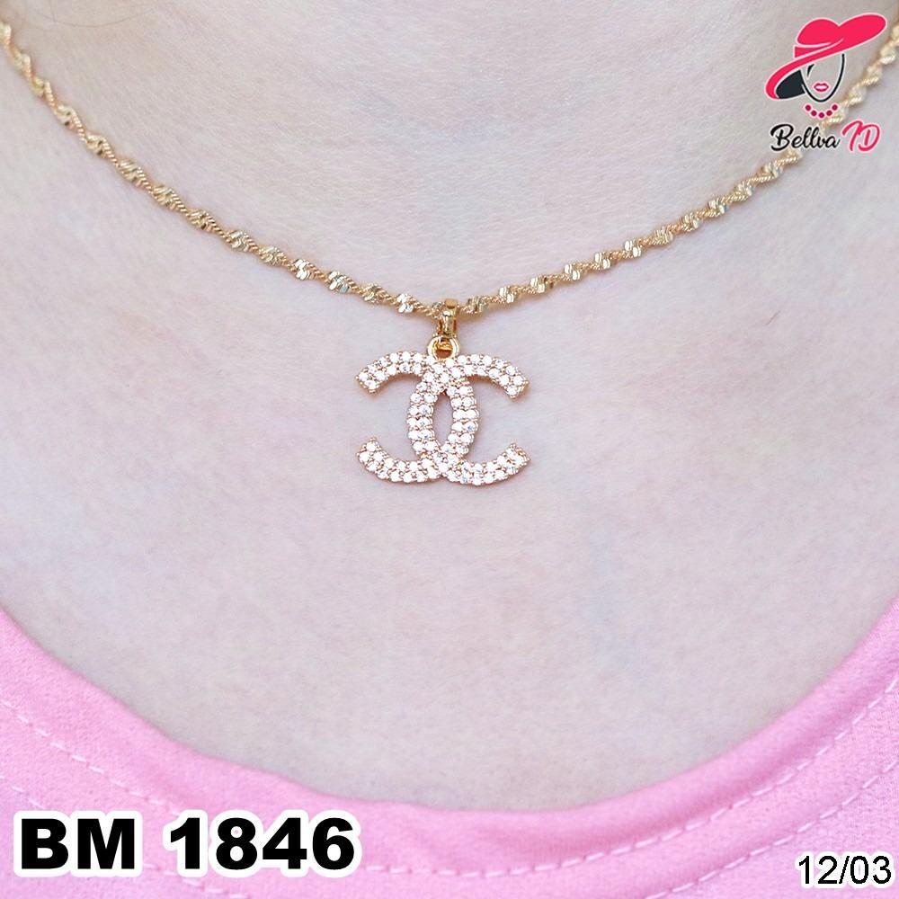 Kalung Chanel Gold M 1846