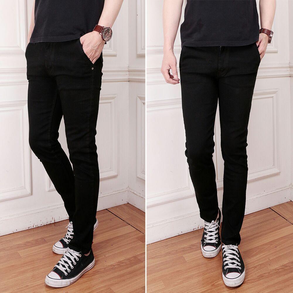 Celana Jeans Pria Skinny Street Fashion Premium Slim Fit Denim Ripped
