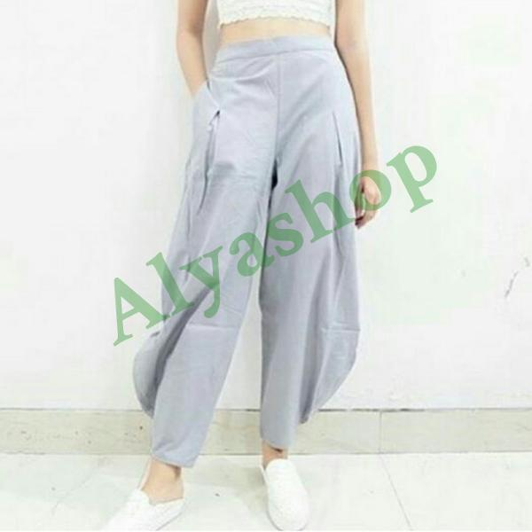 Diskon Terlaris Celana Asoy Geboy Model Kulot Aladin Ukuran Big Size Promo Terbaik