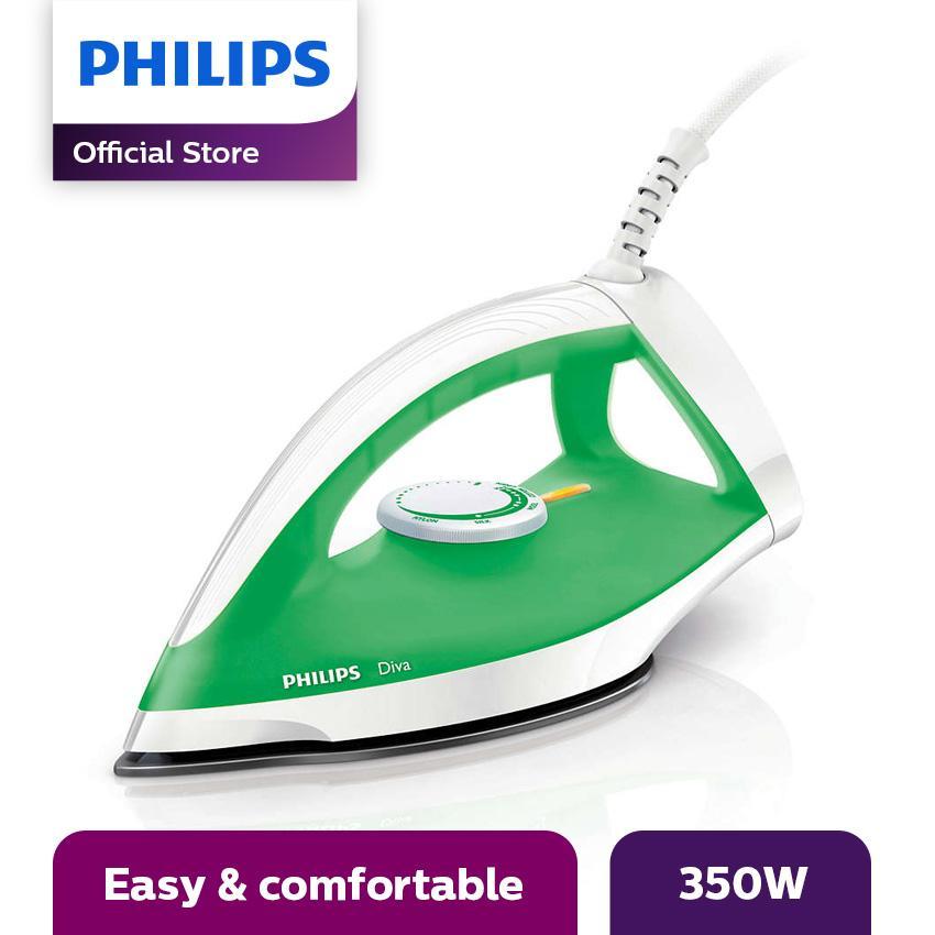 Philips GC122 Setrika Kering - Hijau