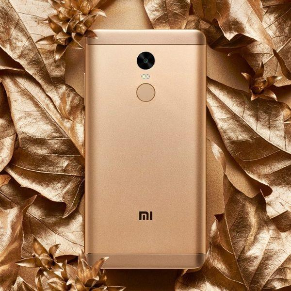 BEST PRICE - XIAOMI REDMI NOTE 4X WARNA GOLD RAM 3GB INTERNAL 32GB - GARANSI 1 TAHUN