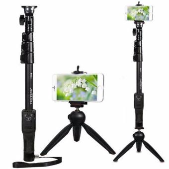 Yunteng Tongsis Monopod Bluetooth YT 1288 Plus Mini Tripod