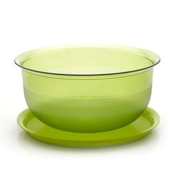 tupperware table collection 1l hijau new