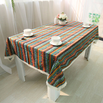 rondaful 1x a6060 tablecloths ethnic style fashion cotton table cloth tablecloths coffee