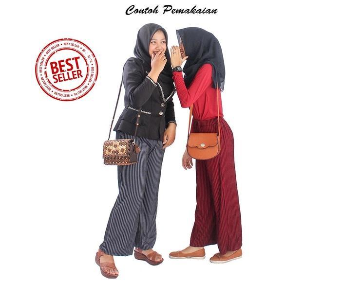 TERKECE Celana Murah Celana Panjang Hijaber Celana Kulot Panjang Lidi Standart PROMO