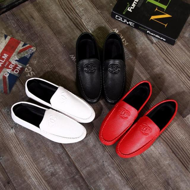 Sepatucanteq New Arrival   Man Loafer Shoes Chanel Series H2-D16